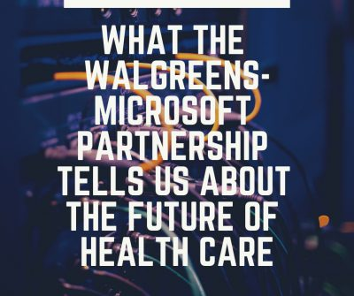 Microsoft's potential impact on health care